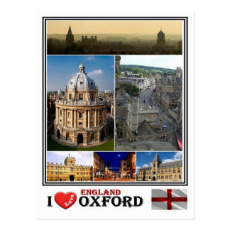 GB England - Oxford - Postcard