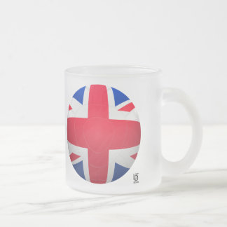 GB Football Frosted Glass Mug