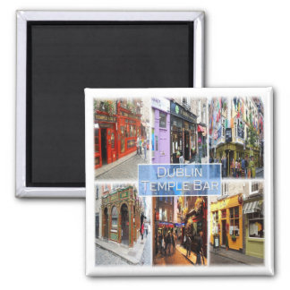 GB * Northern Ireland - Dublin - Temple Bar Magnet