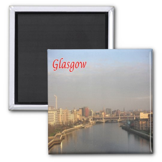 GB - Scotland - Glasgow - Skyline Magnet