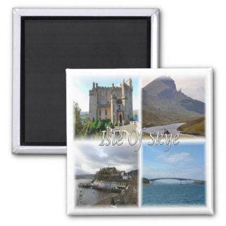 GB * Scotland - The Isle Of Skye Square Magnet