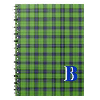 GB Tartan Notebook