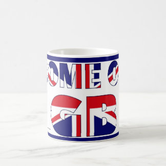GB team UK flag olympics souvenir mug