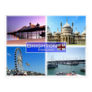 GB United Kingdom - England - Brighton - Postcard