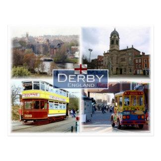 GB United Kingdom - England - Derby - Postcard