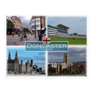 GB United Kingdom - England - Doncaster - Postcard