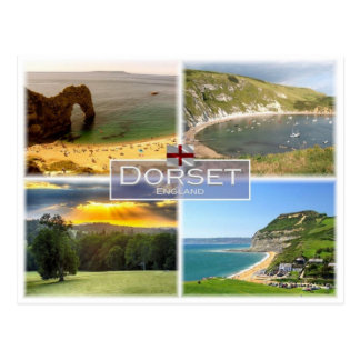 GB United Kingdom - England - Dorset -. Postcard