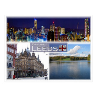 GB United Kingdom - England - Leeds - Yorkshire - Postcard