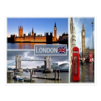 GB United Kingdom - England - London - Postcard
