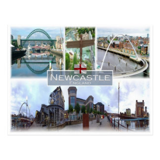 GB United Kingdom - England - Newcastle - Postcard
