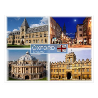 GB United Kingdom - England - Oxford - Postcard