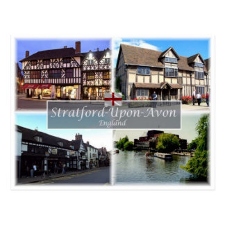 GB United Kingdom - England - Stratford-Upon-Avon Postcard