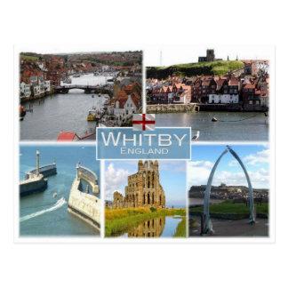 GB United Kingdom - England - Yorkshire -  Whitby Postcard