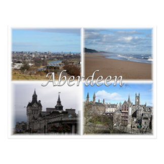 GB United Kingdom - Scotland -  Aberdeen - Postcard
