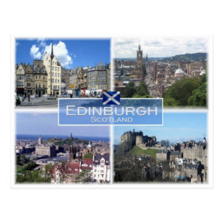 GB United Kingdom - Scotland - Edinburgh - Postcard