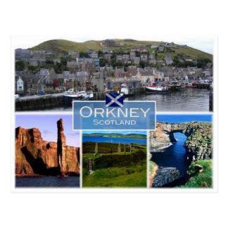 GB United Kingdom - Scotland -The Orkney Islands - Postcard