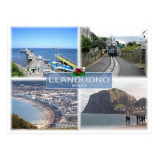 GB United Kingdom - Wales - Llandudno - Postcard
