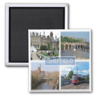 GB * - Yorkshire - Sheffield Magnet