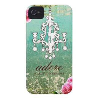 GC Adore Vintage Crystals Turquoise iPhone 4 Cases