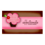 GC | AFFECTIONATE CONFECTIONS CUPCAKE PACK OF STANDARD BUSINESS CARDS
