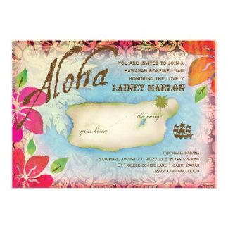 Gc Aloha Luau Island Personalized Invite
