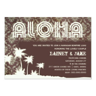 GC Aloha Luau Palm Pier Card