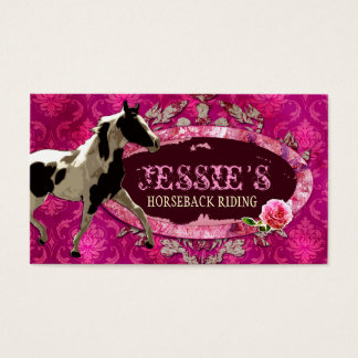"GC | ""AnnaBelles"" Horse Ranch Business Card"