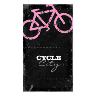 GC | Cycle City Concrete - Pink Pack Of Standard Business Cards
