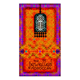 GC | Exotic Jewelled Moroccan Business Cards