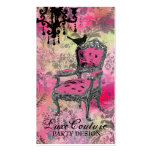 GC | Fabulously French Colourful Pink Damask Pack Of Standard Business Cards