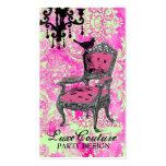 GC | Fabulously French Hot Pink Lime Damask