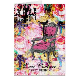 GC Fabulously French Shabby Rose Card