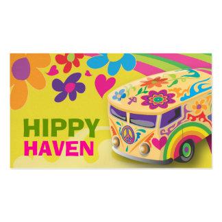 GC Hippy Peace Bus Business Cards