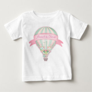 GC Hot Air Balloon First Birthday Tee