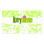 GC | Key Lime Grunge Pack Of Standard Business Cards