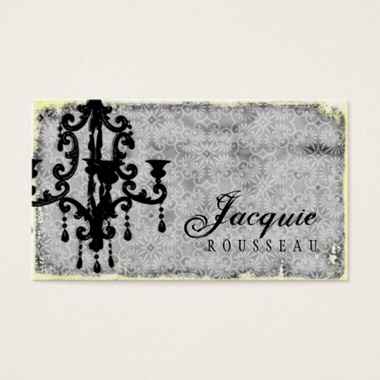 GC | Lustre Passionné - Grey Business Card