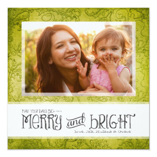 GC | May Your Days Be Merry & Bright Lime Card