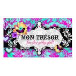 GC | Mon Trésor Turquoise Pink Pack Of Standard Business Cards