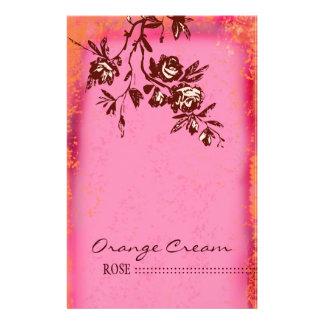 GC | Orange Cream RoseFlyer 14 Cm X 21.5 Cm Flyer