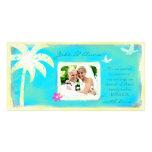 GC | Paradise Found Wedding Announcement Custom Photo Card