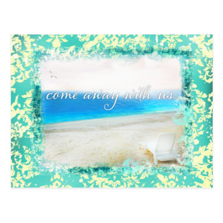 GC Paradise Island Come Away with Us Postcard