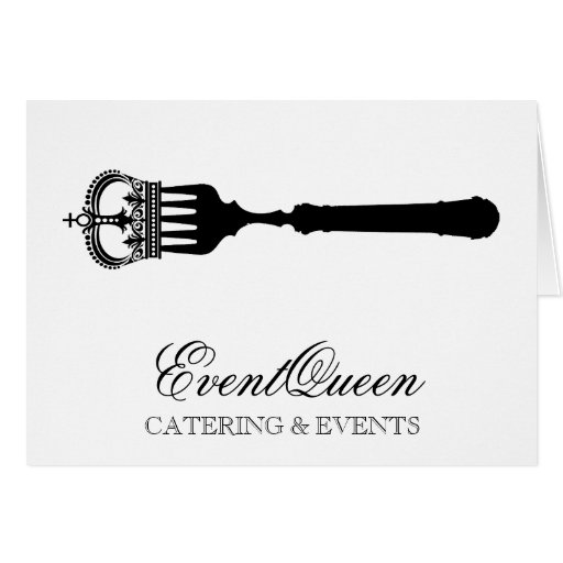 GC Queen Fork Stationery Note Card