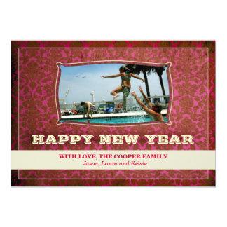 GC | Ravishing Red Vintage | Happy New Year Card