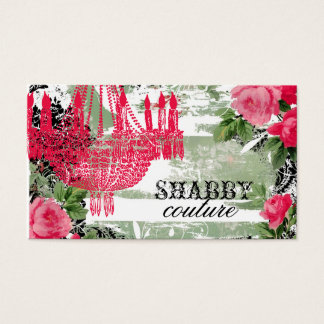 GC Shabby Garden Chandelier Business Card