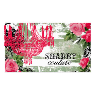 GC Shabby Garden Chandelier Pack Of Standard Business Cards