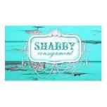 GC Shabby Vintage Aqua Wood
