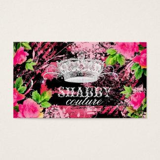 GC Shabby Wild Garden Tiara Business Card