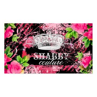 GC Shabby Wild Garden Tiara Business Cards