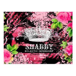 GC Shabby Wild Rose Couture Tiara Postcards