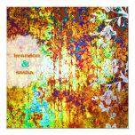 GC | Sunken Treasure | Flower 13 Cm X 13 Cm Square Invitation Card